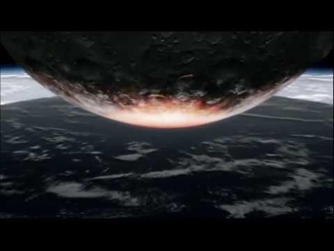 500 kilometre wide asteroid impact - default