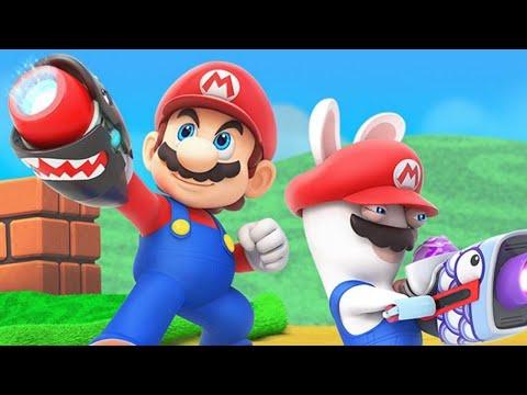 Mario + Rabbids: Kingdom Battle 2-PLAYER VERSUS MODE - Full Match - UCKy1dAqELo0zrOtPkf0eTMw