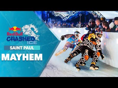 All-out mayhem at Red Bull Crashed Ice 2014 - Saint Paul - UCblfuW_4rakIf2h6aqANefA