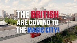The British are Coming to Alabama!