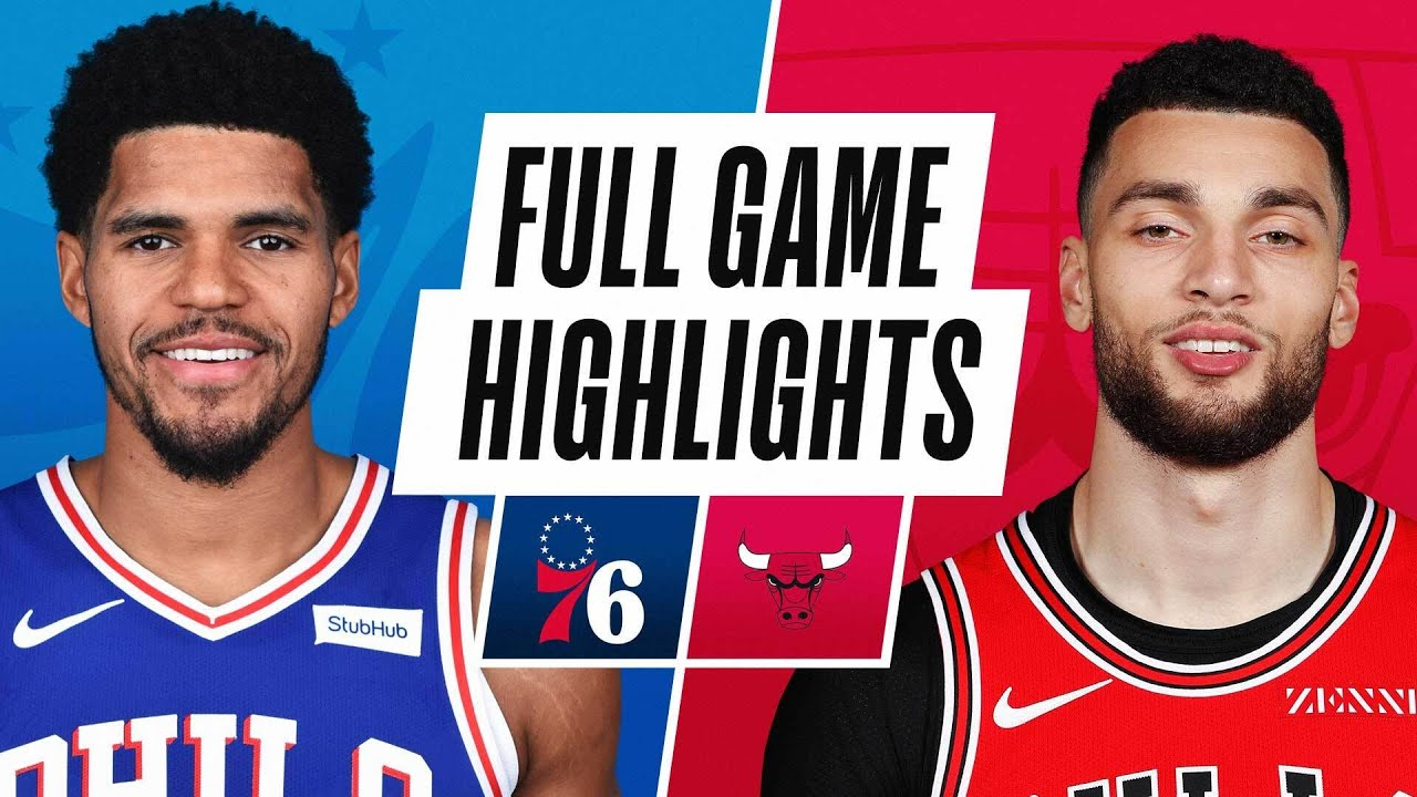76ERS at BULLS | FULL GAME HIGHLIGHTS | March 11, 2021