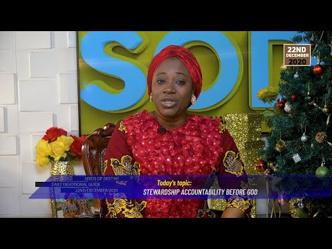 Dr Becky Paul-Enenche - SEEDS OF DESTINY  TUESDAY DECEMBER 22, 2020