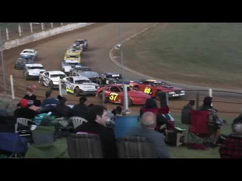 I was tempted just to publish the first Lap as Skinny Colson shows how to go around the outside ; But for the other drivers sake its best to post the whole Race - dirt track racing video image