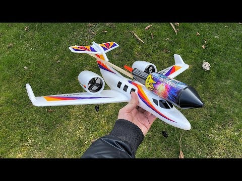 Rocket powered RC Jet Airplane !! Super Acceleration - UCqsS8fU6yVxrJr5y_CoUn3w