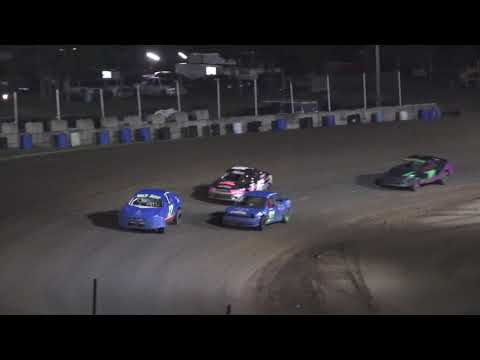 Flinn Stock A-Feature at Crystal Motor Speedway, Michigan on 06-19-2021!! - dirt track racing video image
