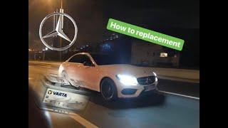 Sostituire batteria Mercedes Classe C W205