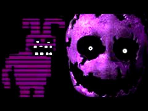 Five Nights at Freddy's 3 All Purple Man Death MINIGAMES - default