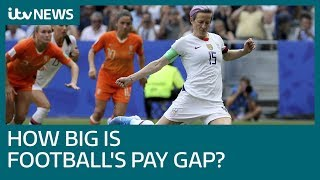 How should English football react to gender pay gap dispute? | ITV News