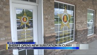 Walker County Sheriff to open new substation in Curry community