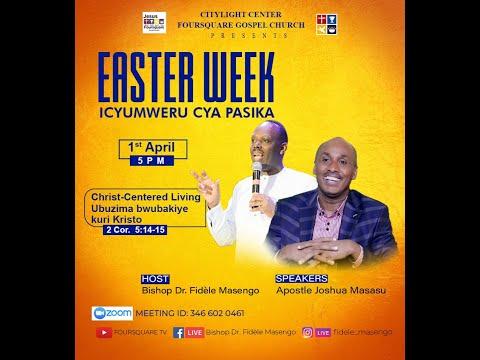 LIVE// ''EASTER WEEK DAY 4  with Apostle MASASU Joshua  01.04.2021
