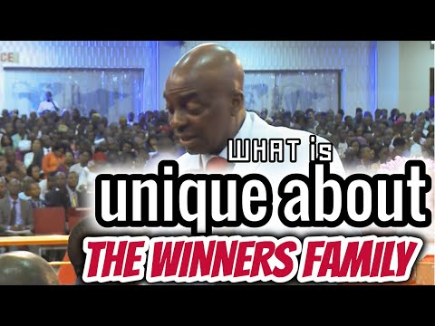 Bishop Oyedepo  What Is Unique About The Winners Family