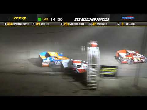 Thunder Mountain Speedway   DIRTcar 358-Modified Highlights   8/7/21 - dirt track racing video image