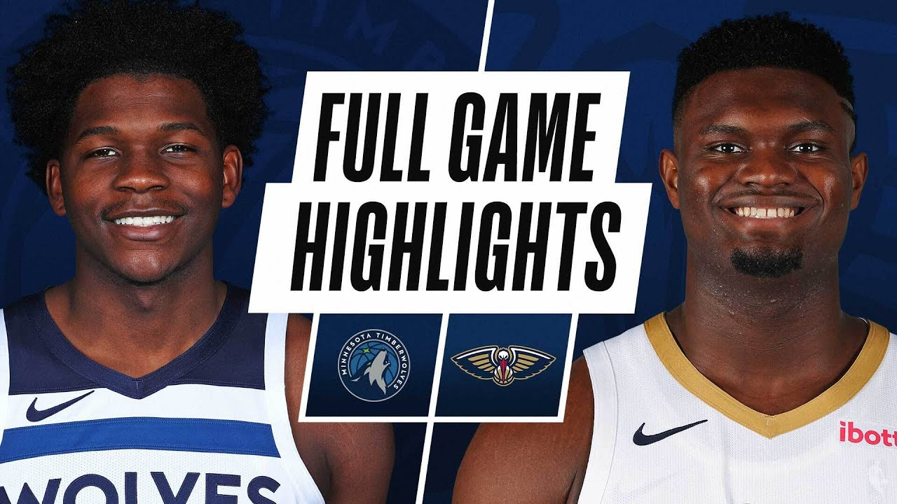 TIMBERWOLVES at PELICANS | FULL GAME HIGHLIGHTS | March 11, 2021