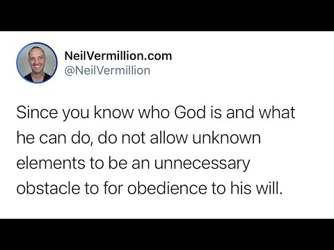 Trust In Who I Am - Daily Prophetic Word
