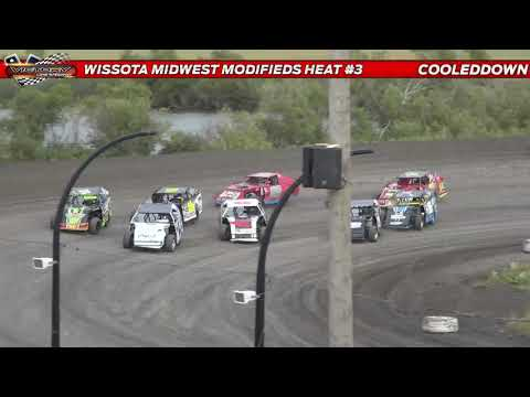 www.cooleddown.tv | LIVE LOOK-IN | WISSOTA AFCO Race of Champions Qualifier August 12th 2021 - dirt track racing video image