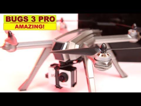 MJXRC Bugs 3 Pro with 3 batteries - It can lift a 4K GoPro for filming! - UCm0rmRuPifODAiW8zSLXs2A