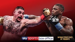 ANTHONY JOSHUA VS ANDY RUIZ - FOREIGN LOCATION MAY CONTRIBUTE TO REPEAT RESULT!!!