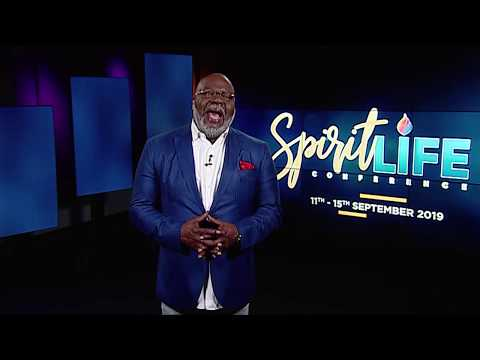 Bishop T D Jakes Invites You To The Spirit Life Conference 2019