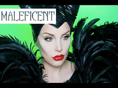 MALEFICENT MAKEUP TUTORIAL | Halloween 2014 | AudioMania lt