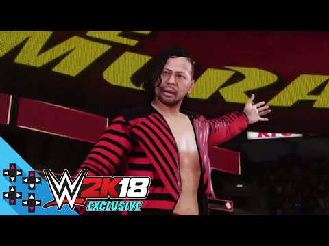 WWE 2K18 Exclusive - Shinsuke Nakamura makes his trademark entrance - UCIr1YTkEHdJFtqHvR7Rwttg