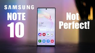5 BIGGEST Problems With The Galaxy Note 10!