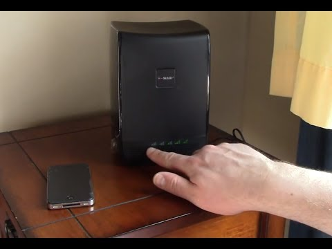 The T-Mobile CellSpot is an award-winning Asus router in