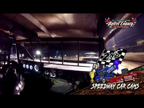 #41 Bryan White - USRA Stock Car - 6-18-2021 Dallas County Speedway - In Car Camera - dirt track racing video image