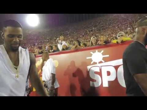 "Jason Derulo Performs ""Trumpets"" at USC Halftime Show - jasonderulo"