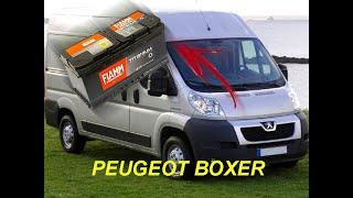 Sostituzione batteria Peugeot Boxer