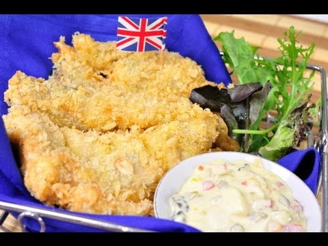 สเต็กปลาทอดกับทาร์ทาร์ซอส - foodtraveltvchannel