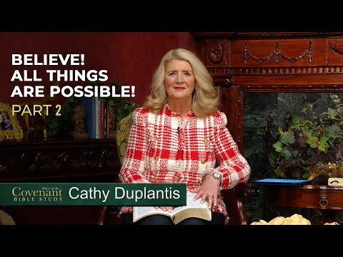 Voice of the Covenant Bible Study Part 6  Cathy Duplantis