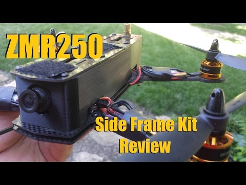 ZMR250 Side Wall Plate Review from Banggood - UC92HE5A7DJtnjUe_JYoRypQ