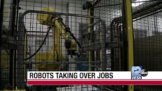 Robots expected to displace future jobs