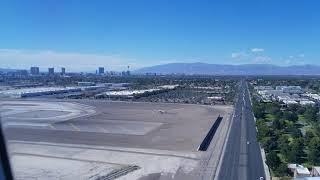Landing at Las Vegas McCarran Airport 2018