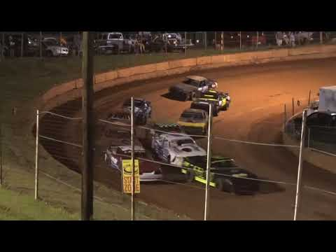 Stock V8 at Winder Barrow Speedway August 14th 2021 - dirt track racing video image