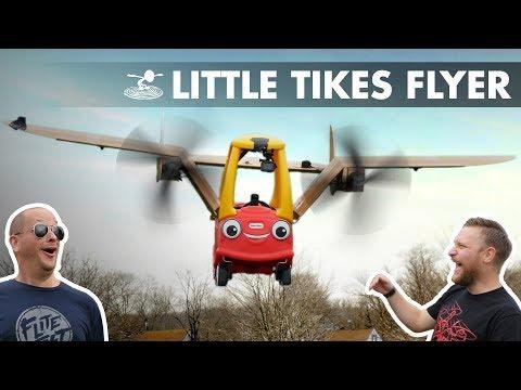 Can a Little Tikes Car FLY!? - UC9zTuyWffK9ckEz1216noAw