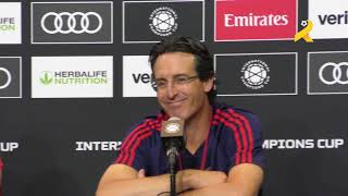 Unai Emery and Granit Xhaka full press conference before their friendly against Bayern