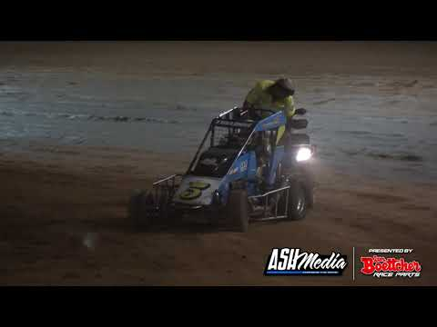 Speedcars: QSRA Fraser Coast Cup - A-Main - Maryborough Speedway - 15.05.2021 - dirt track racing video image