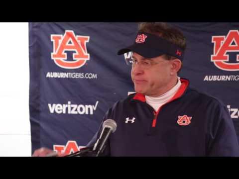 Gus Malzahn talks about Auburn's loss to rival Alabama in the 2016 Iron Bowl.