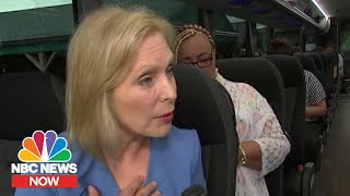 Sitting Down With Sen. Gillibrand On Her Campaign Bus Tour | NBC News Now