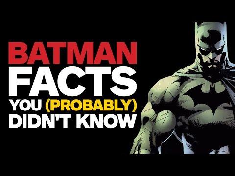 17 Batman Facts You (Probably) Didn't Know - UCKy1dAqELo0zrOtPkf0eTMw