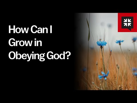 How Can I Grow in Obeying God? // Ask Pastor John