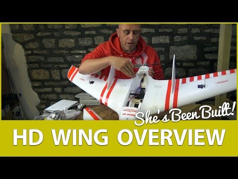 🛠️ Build Overview: Sonicmodell HD FPV Flying Wing Build - UCWP6vjgBw1y15xHAyTDyUTw