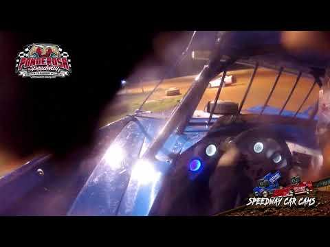 #99 Camron Marlar - Crate Late Model - 8-6-21 Ponderosa Speedway - In-Car Camera - dirt track racing video image