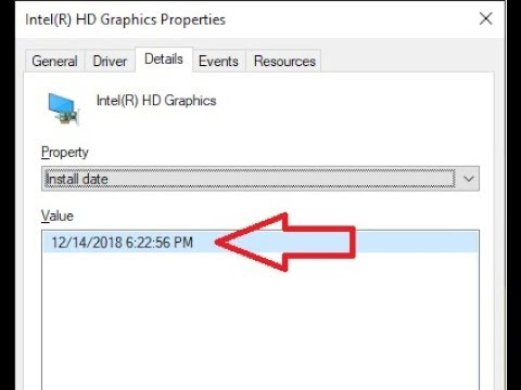 How to Know Driver Install Date & Time in Windows 10/8/7