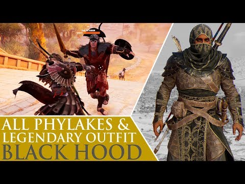 Assassin's Creed: Origins - All Phylakes & Black Hood Legendary Outfit - UCM5yU7TdzjU_bulbHEYl6Bg