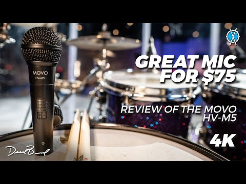 Great all around mic for $75! // Movo HV-M5 Microphone Review