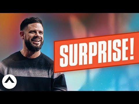 Surprise!  Pastor Steven Furtick  Elevation Church