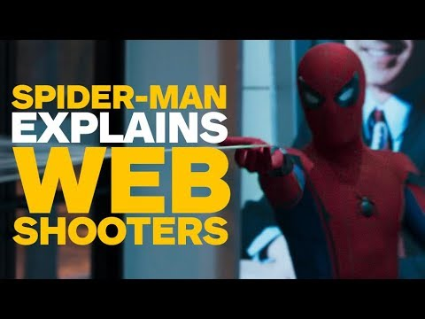 Spider-Man: Homecoming - Tom Holland Shows Off the Web Shooters - UCKy1dAqELo0zrOtPkf0eTMw