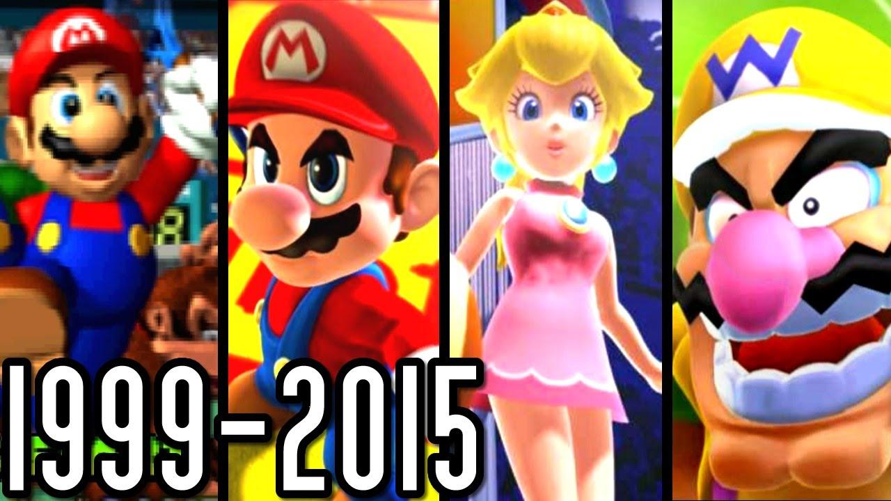 Mario Tennis & Golf ALL INTROS 1999-2015 (Wii U, 3DS, GC